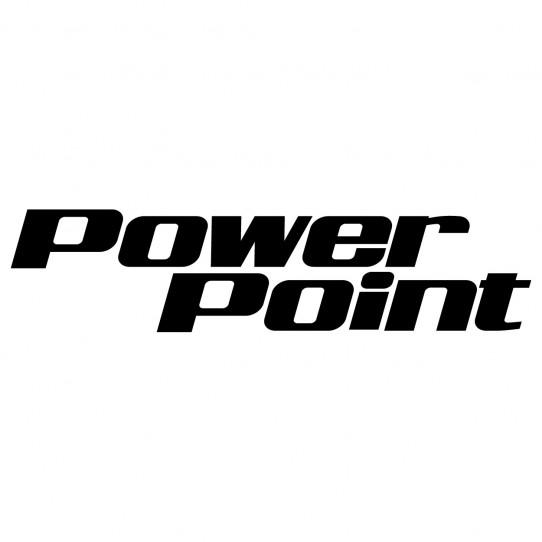 Stickers jet ski power point