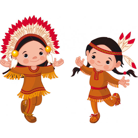 Stickers jeunes indiens