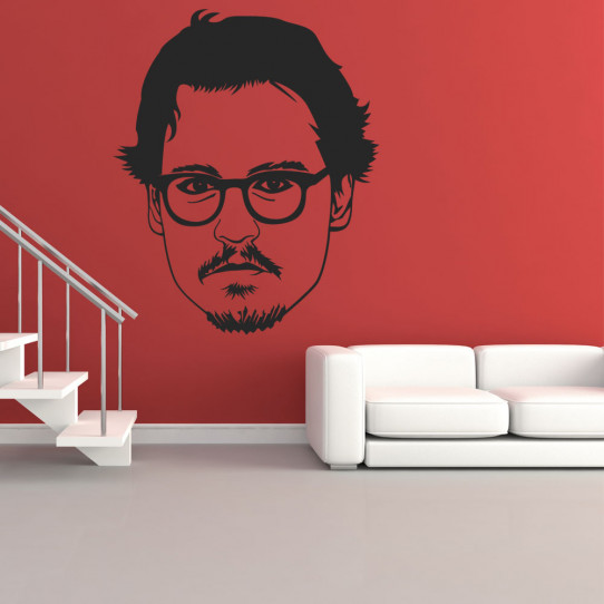 Stickers johnny depp