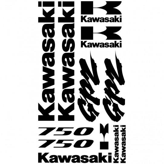 Stickers Kawasaki GPZ 750