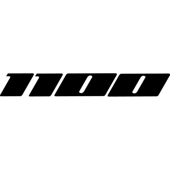 Stickers kawasaki gpz zz-r 1100