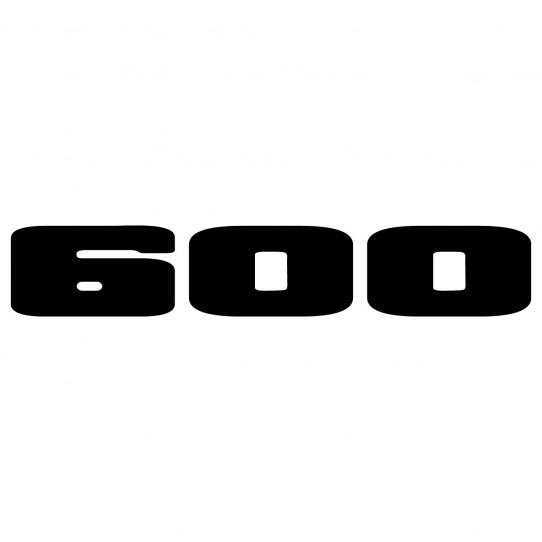 Stickers kawasaki ninja 600