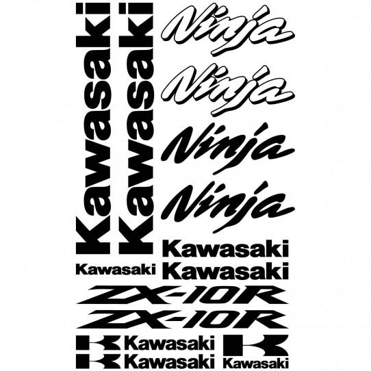 Stickers Kawasaki ninja ZX-10r