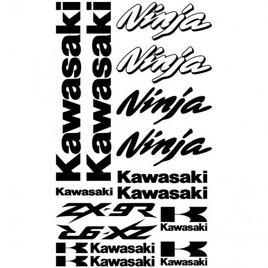 Stickers Kawasaki ninja ZX-9r