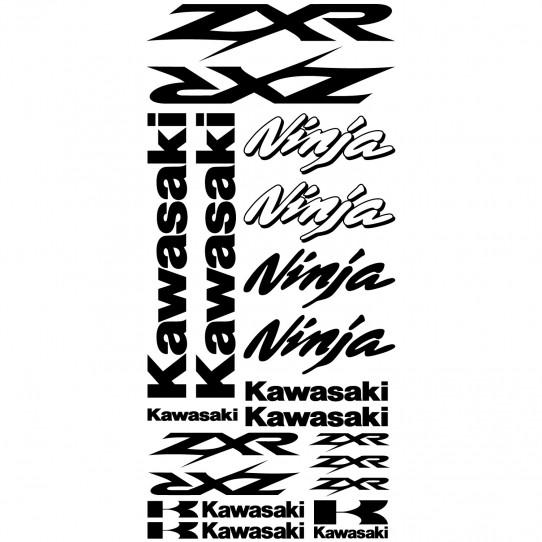 Stickers Kawasaki ninja ZXR