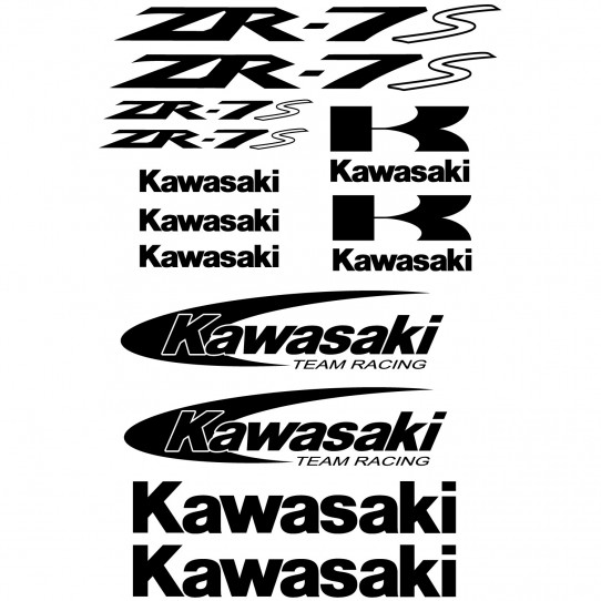 Stickers Kawasaki ZR-7s