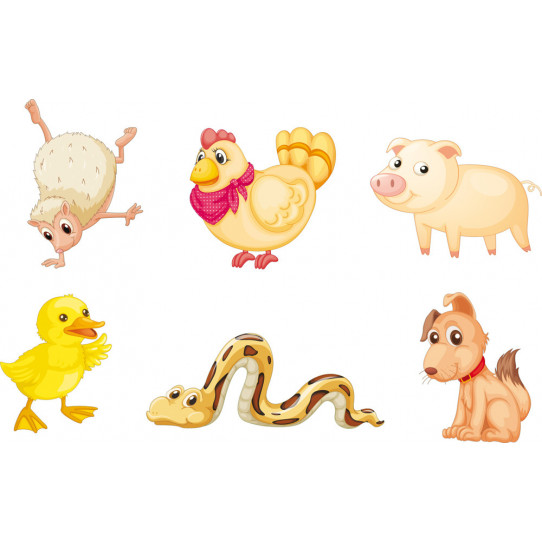 Stickers kit animaux