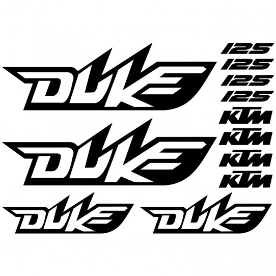 Stickers Ktm 125 duke