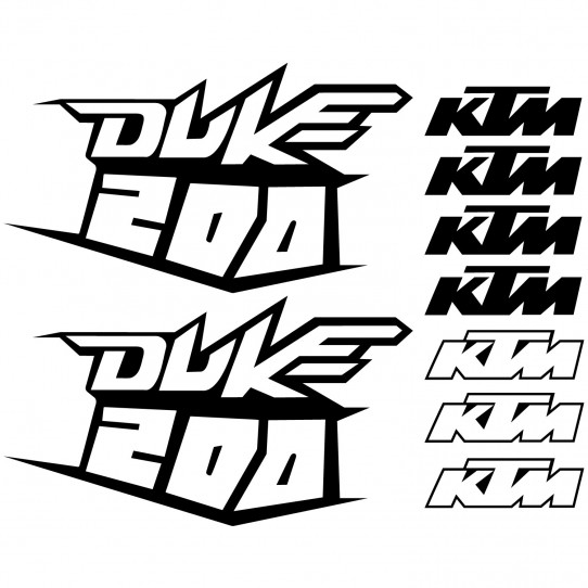 Stickers Ktm 200 duke