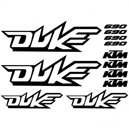 Stickers Ktm 690 duke