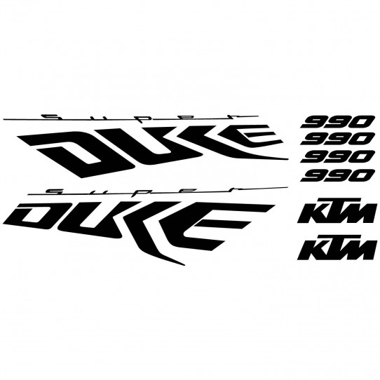 Stickers Ktm 990 Super duke