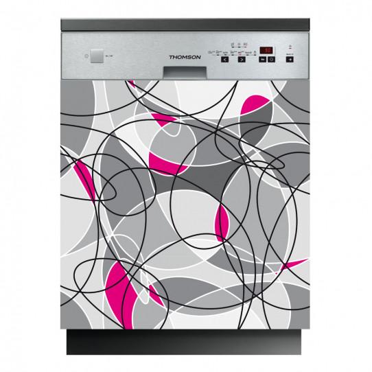 Stickers lave vaisselle design