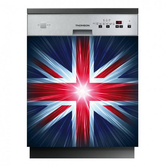 Stickers lave vaisselle drapeau anglais