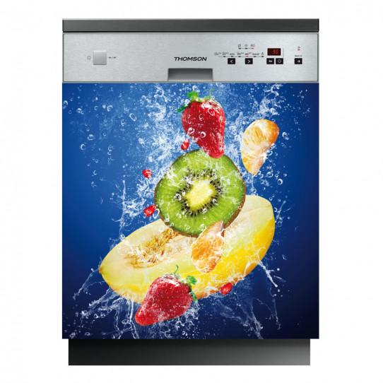 Stickers lave vaisselle fruits