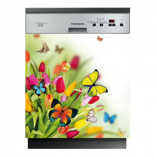Stickers lave vaisselle papillons