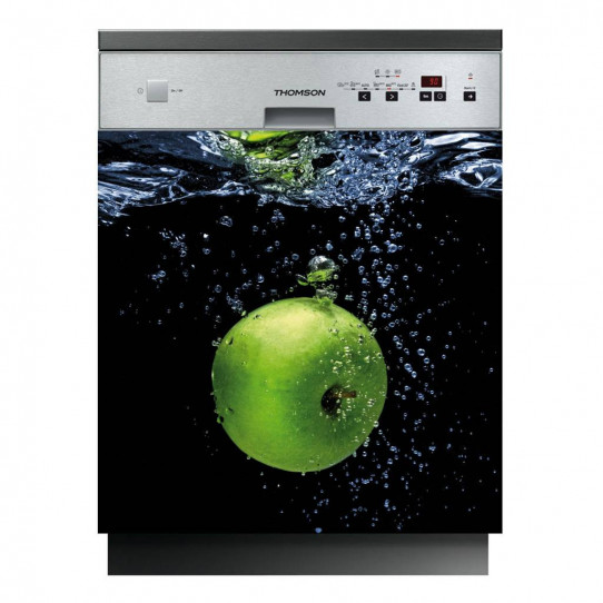 Stickers lave vaisselle pomme
