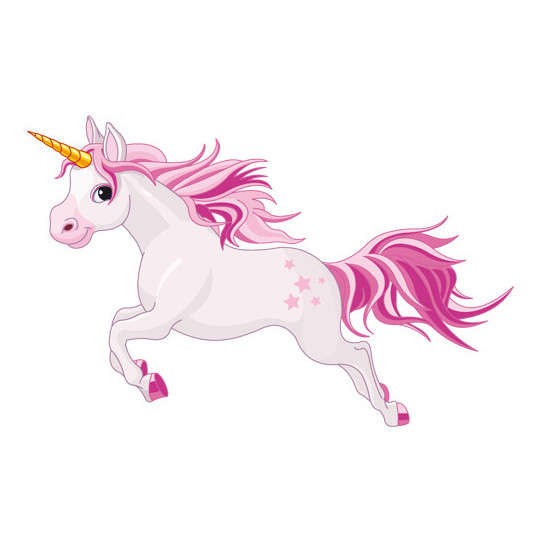 Stickers Licorne Fiora