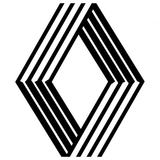 Stickers logo renault