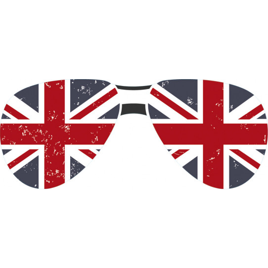 Stickers lunette angleterre