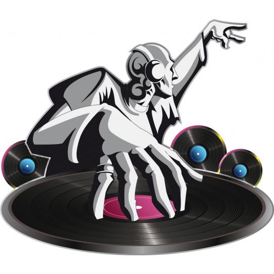 Stickers mix dj