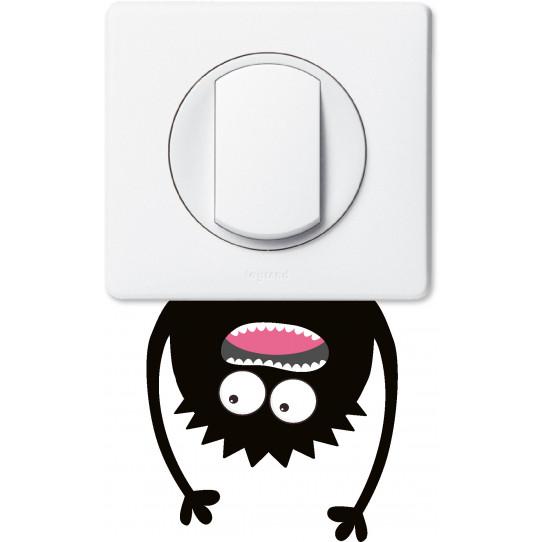 Stickers monstre pour prise et interrupteur