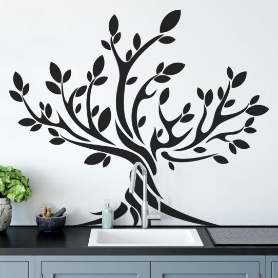 stickers arbre 50 sur les prix magasin stickers. Black Bedroom Furniture Sets. Home Design Ideas