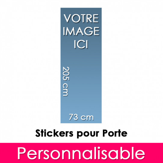 Stickers Personnalisable Pour Porte 73x205 cm
