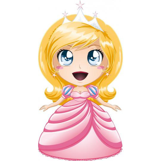 Stickers petite princesse
