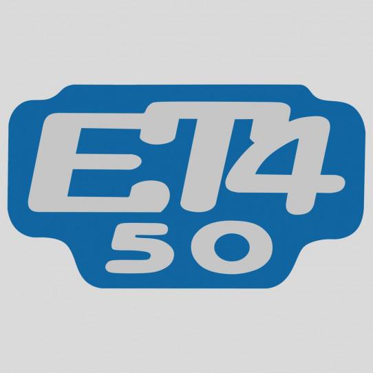 Stickers piaggio vespa et4 50
