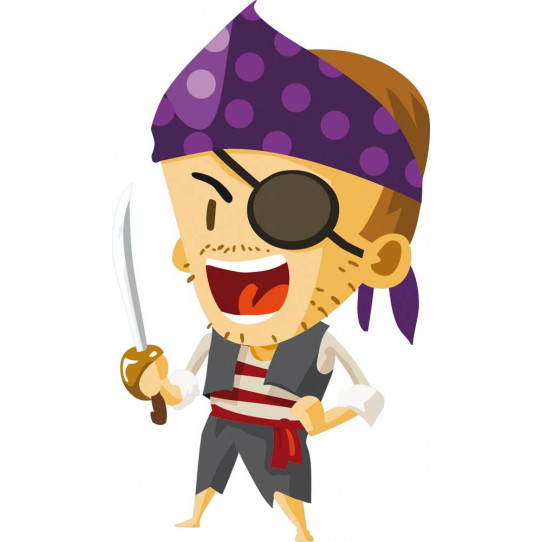 Stickers pirate