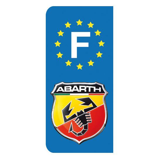 Stickers Plaque Abarth