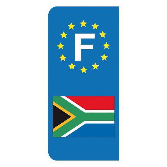 Stickers Plaque Afrique