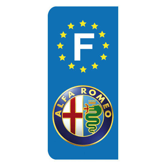 Stickers Plaque Alfa Romeo