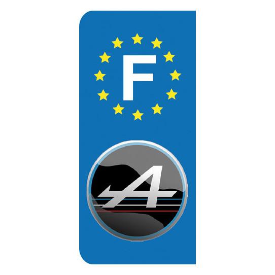 Stickers Plaque Alpine