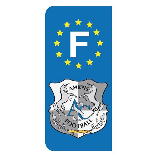 Stickers Plaque Amiens