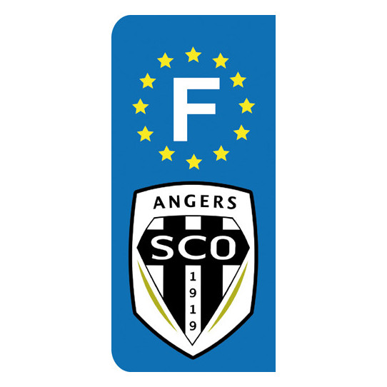 Stickers Plaque Angers