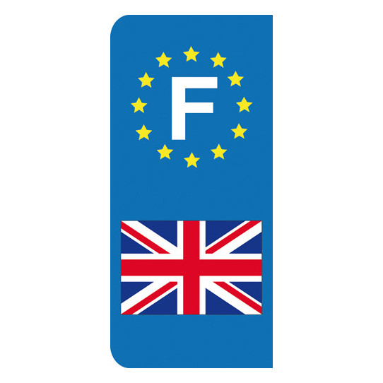 Stickers Plaque Anglais