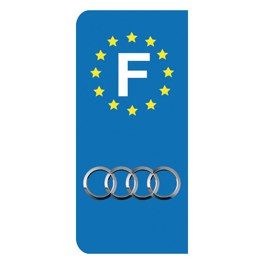 Stickers Plaque Audi