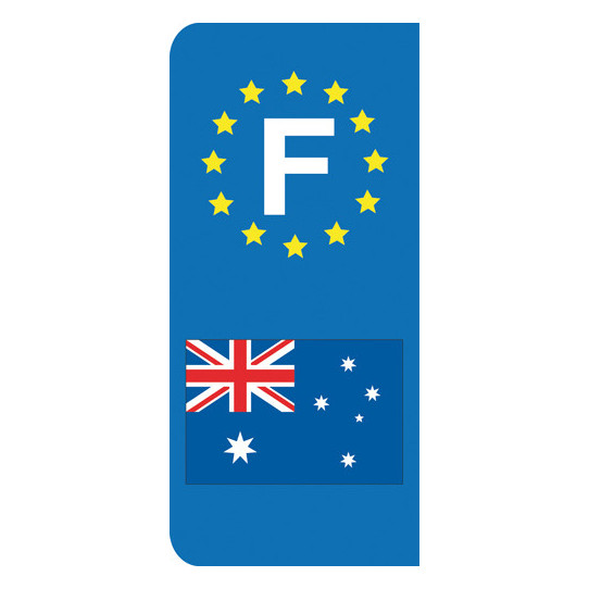 Stickers Plaque Australie
