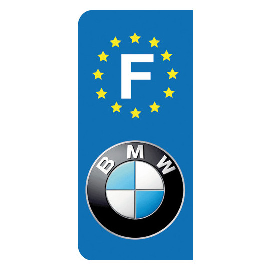 Stickers Plaque BMW
