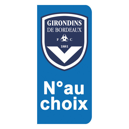 Stickers Plaque Bordeaux