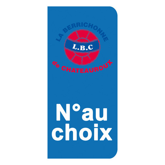 Stickers Plaque Chateauroux