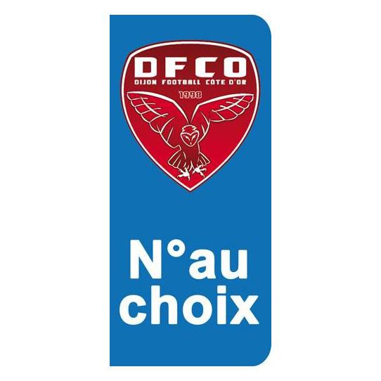 Stickers Plaque Dijon