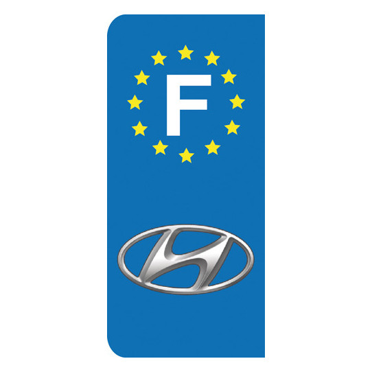 Stickers Plaque Hyundai