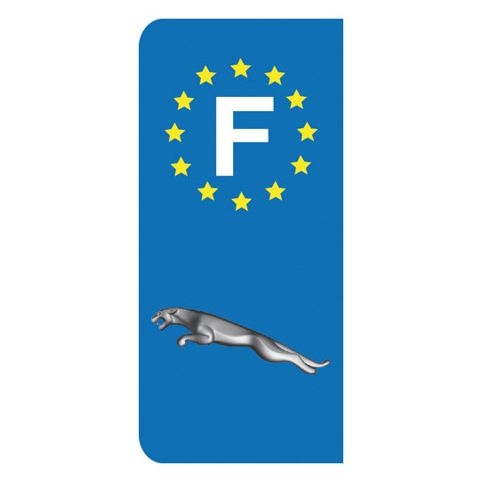 Stickers Plaque Jaguar