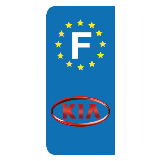 Stickers Plaque Kia