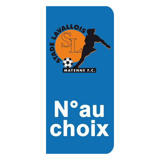 Stickers Plaque Laval