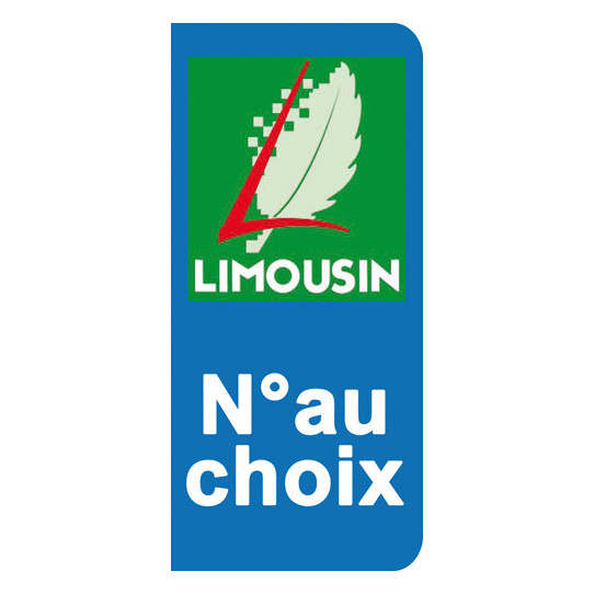 Stickers Plaque Limousin