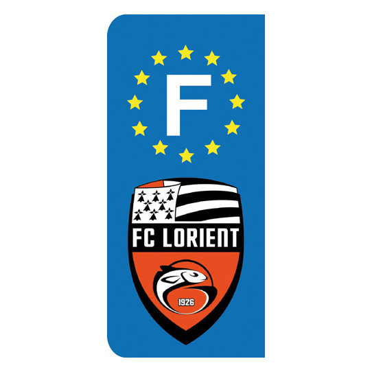 Stickers Plaque Lorient