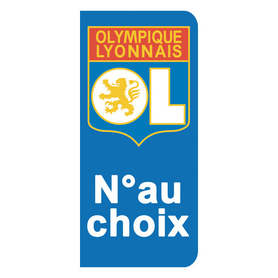 Stickers Plaque Lyon